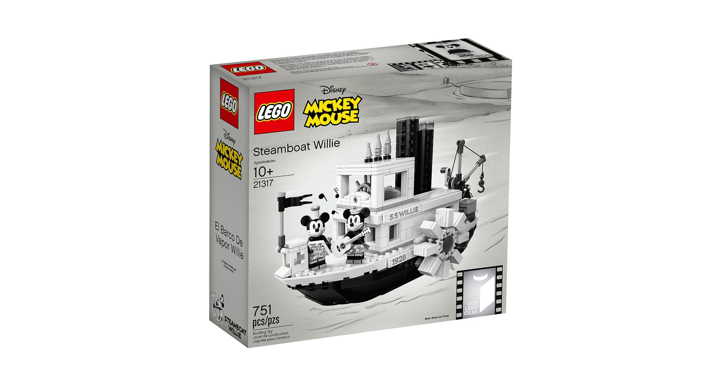 LEGO Steamboat Willie 21317 (2)