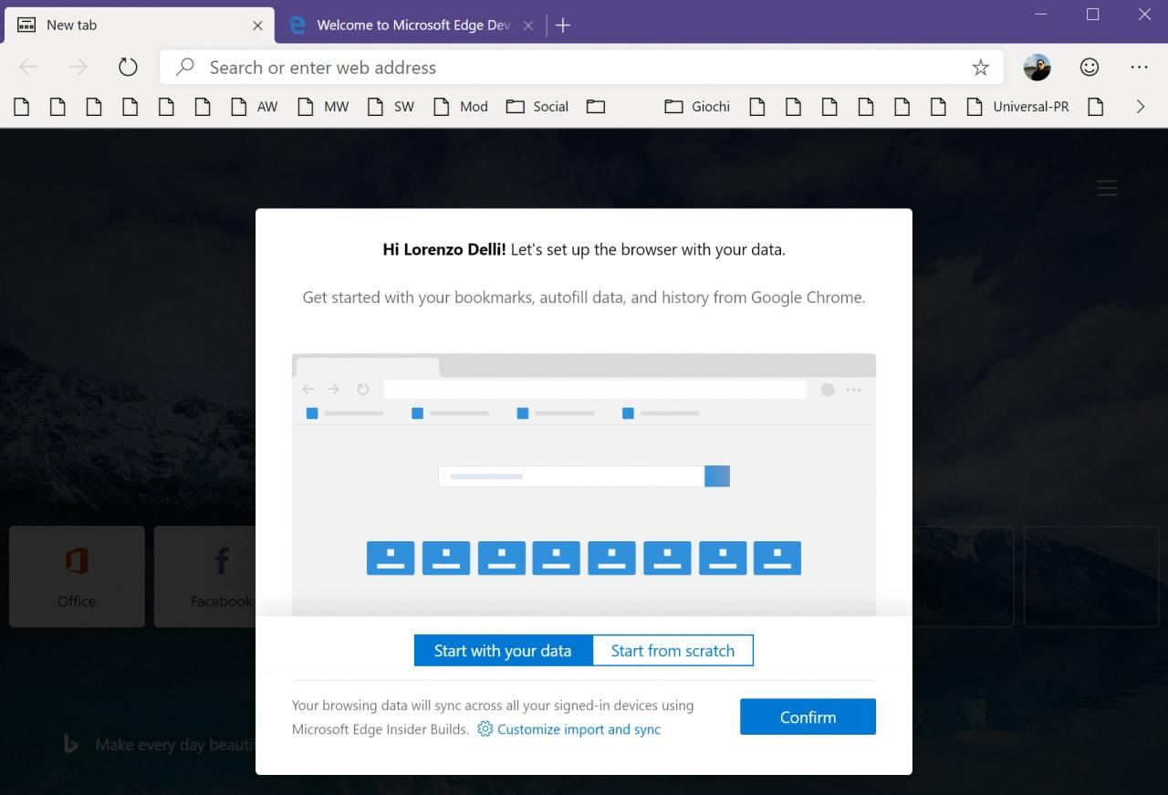Microsoft Edge basato su Chromium è ufficialmente disponibile al download: ma cosa cambia da Chrome?