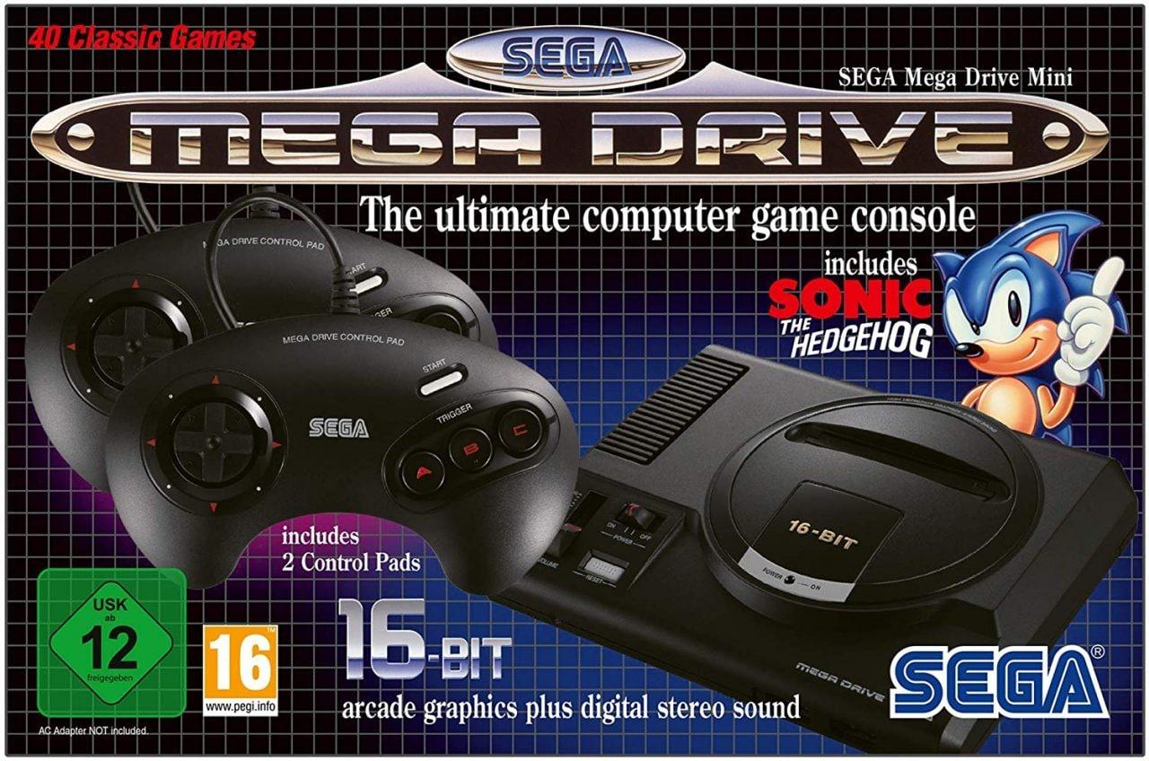 SEGA Mega Drive Mini arriva a settembre con oltre 40 giochi pre-installati