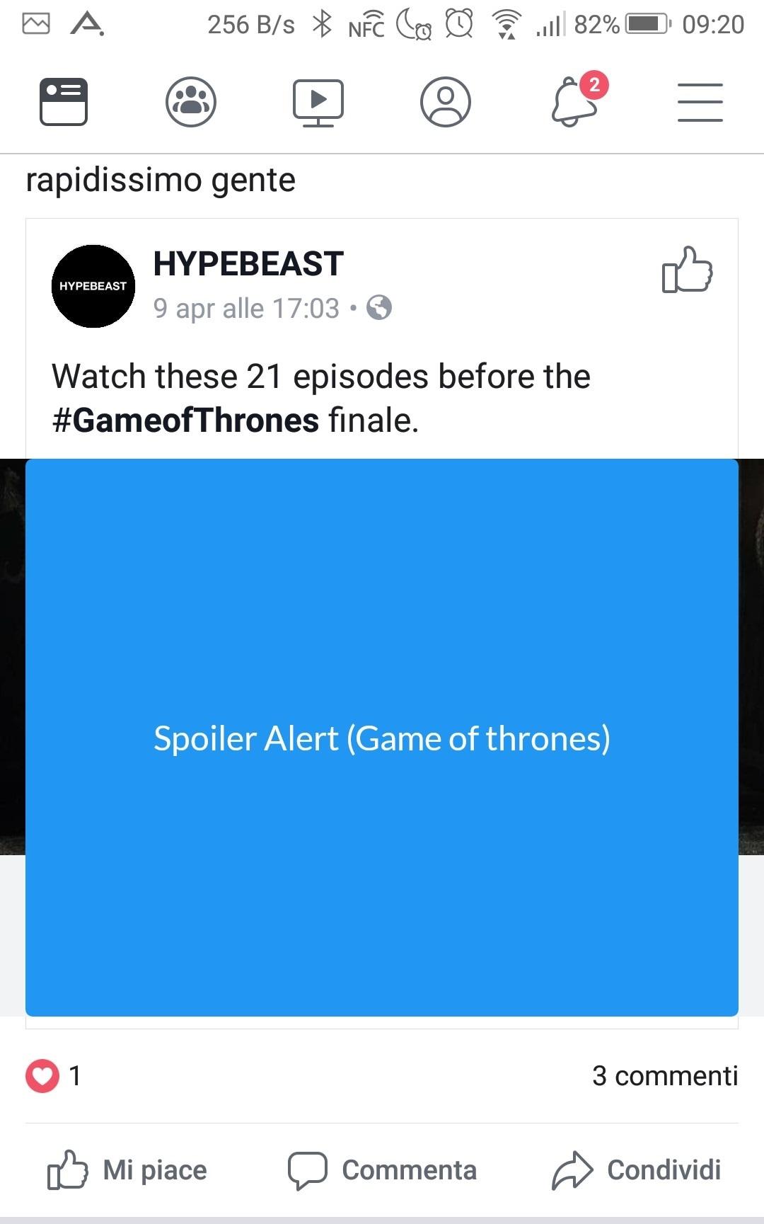 Spoilers Blocker Game of Thrones No Spoiler def
