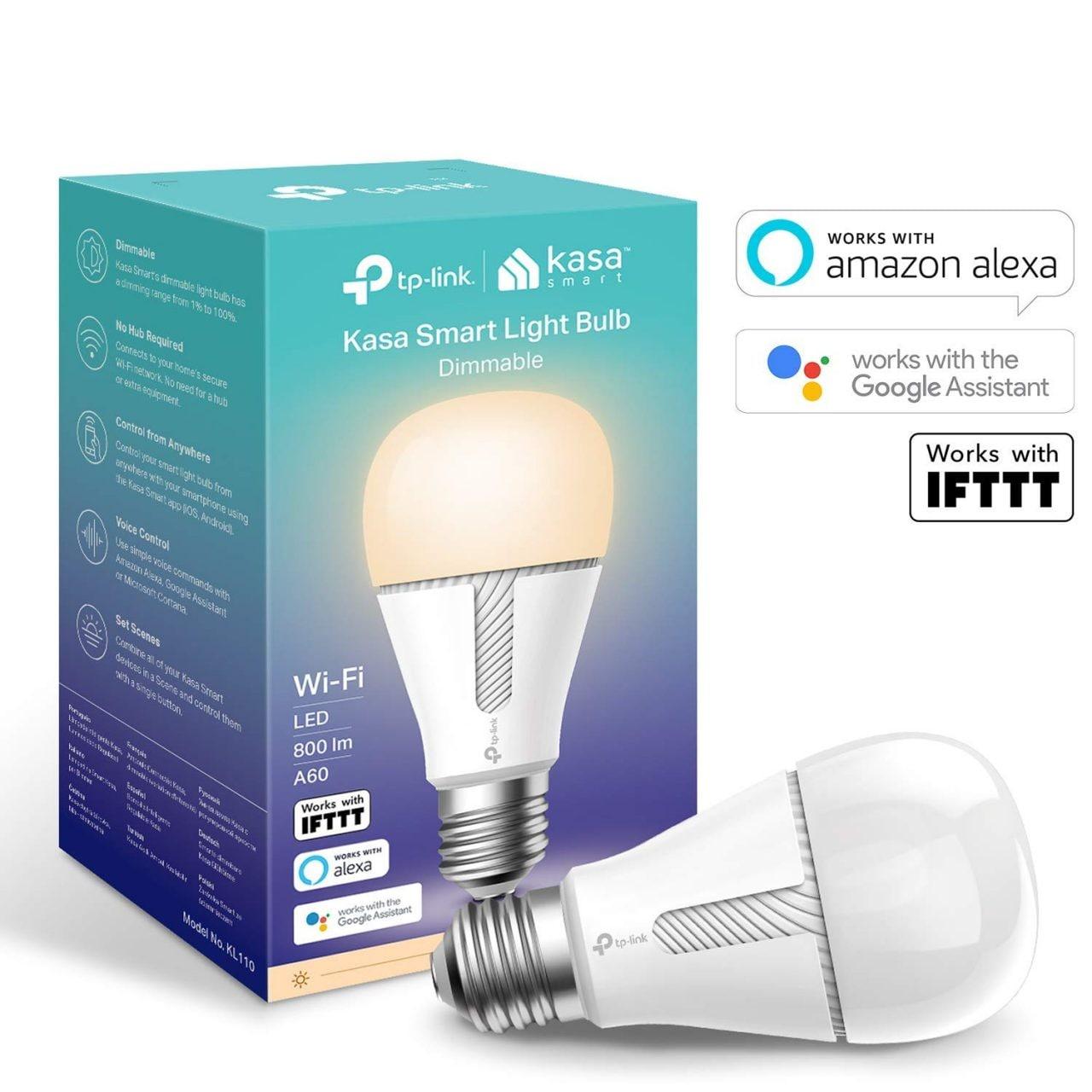 Le lampadine smart di TP-Link costano solo 15€ su Amazon: parlano con Assistant e Alexa