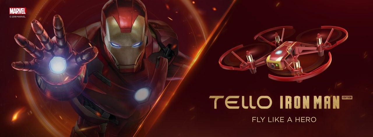 Lasciate perdere quei noiosi droni tutti uguali: arriva il drone di Iron Man! (foto)