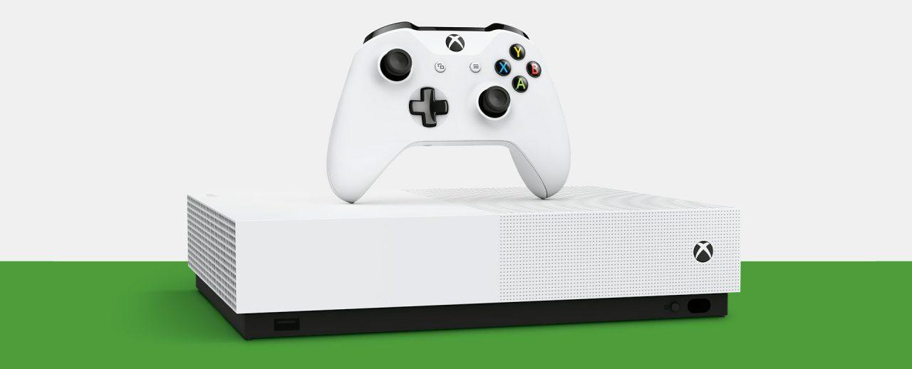 Xbox One S All Digital è già in sconto: 199,99€ con 3 giochi inclusi e 1 mese di Xbox Live Gold