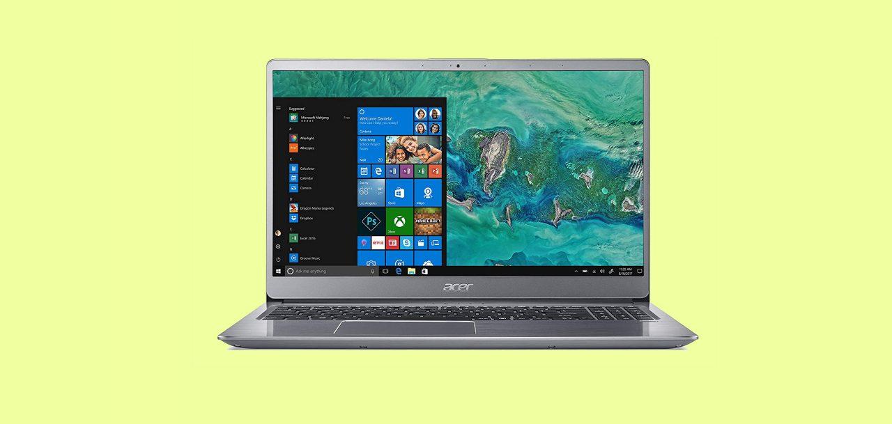 Amazon vi offre Acer Swift 3 in versione top a 799€: pronto per casa e ufficio con Intel i7 e 8 GB di RAM