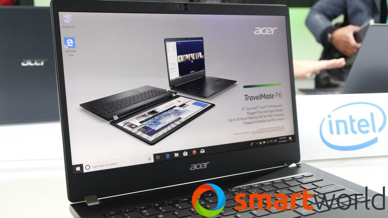 Acer TravelMate P6 promette autonomia e potenza (foto e video)