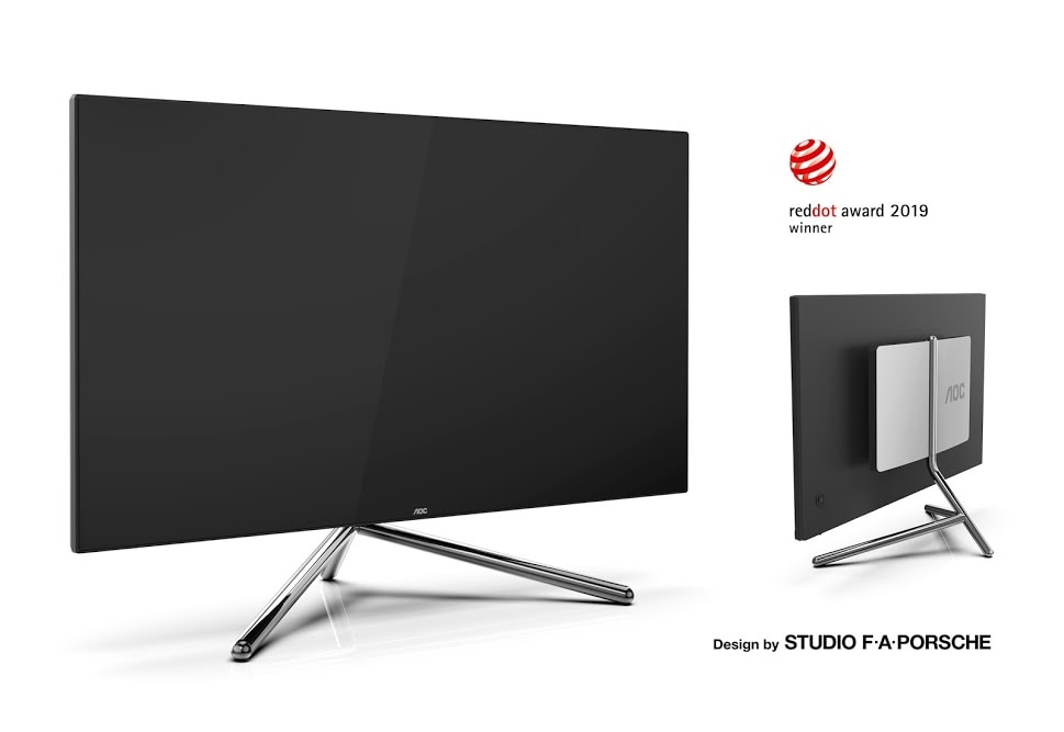"""AOC presenta due nuovi monitor con attenzione al design: 27"""" e 31"""" e risoluzione 4K (foto)"""