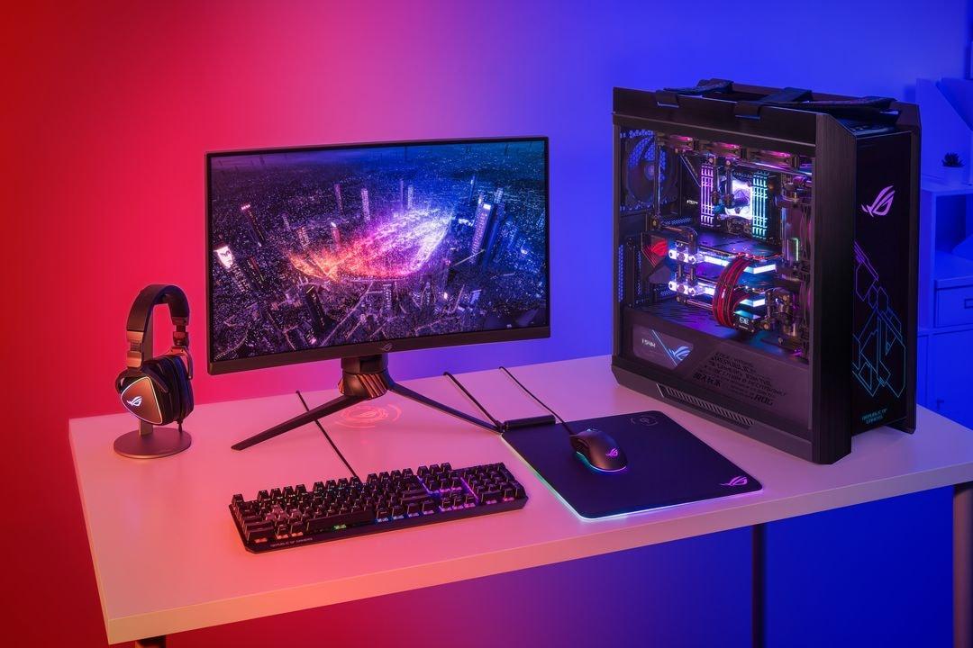 ASUS annuncia le nuove GPU della serie GeForce GTX 1650 e lo spettacolare case ROG Strix Helios (foto e video)