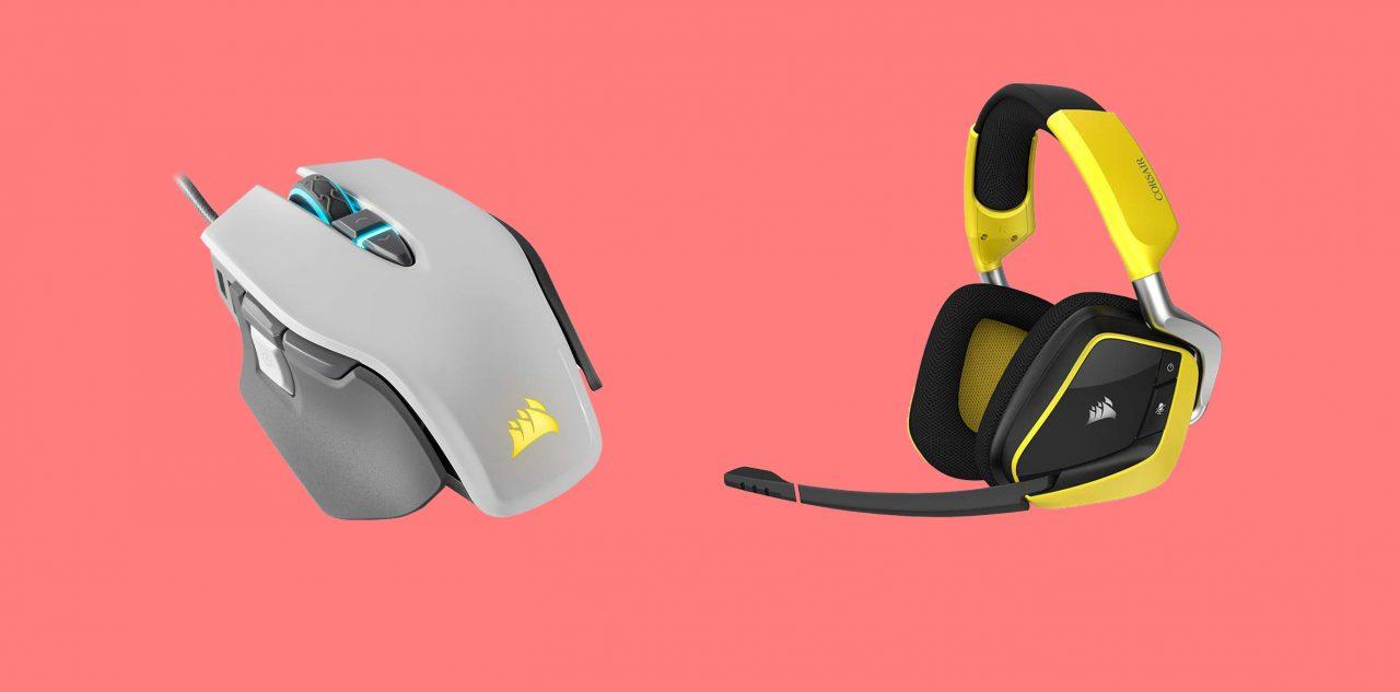 Offerte Amazon per il PC gaming: sconti esclusivi su mouse, tappettini e cuffie Corsair, tutti coi LED RGB!