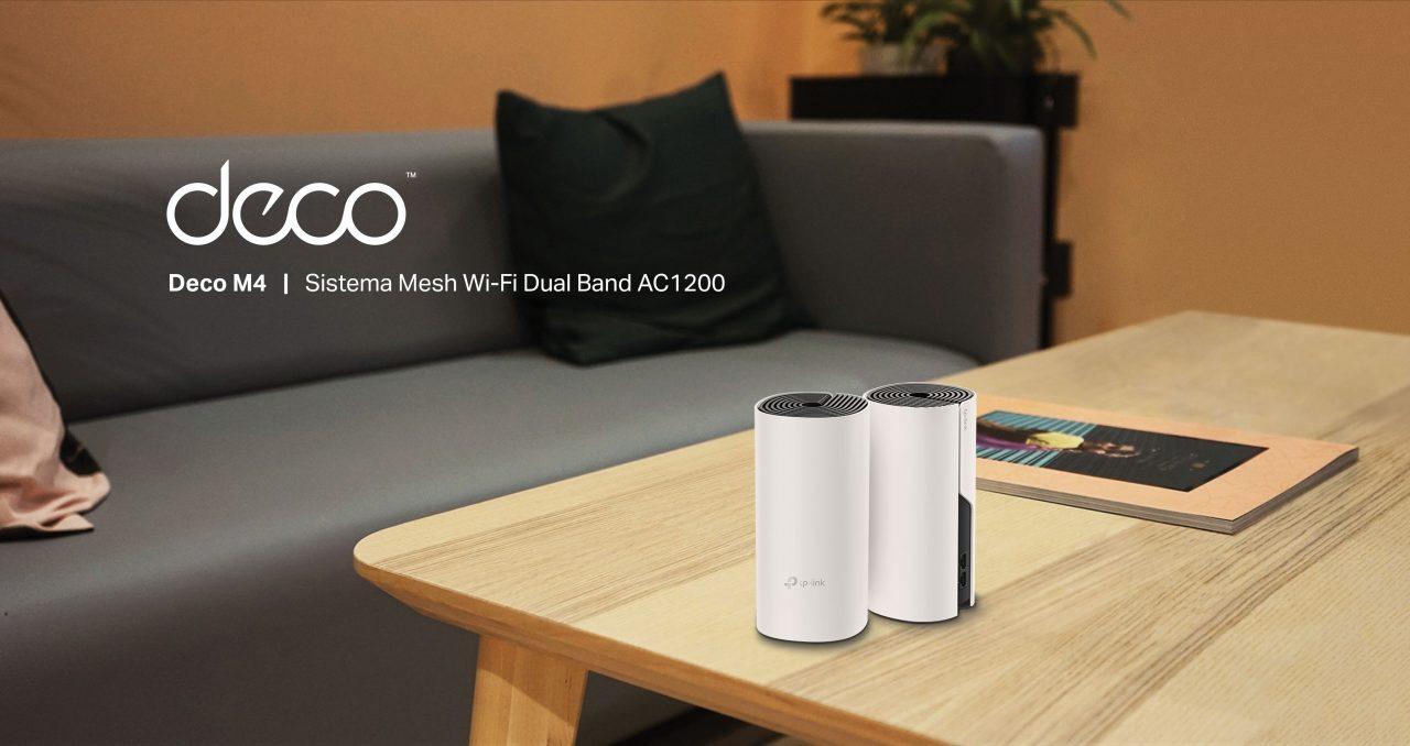 TP-Link presenta Deco M4: il Wi-Fi mesh per la stabilità e qualità della vostra rete (foto)