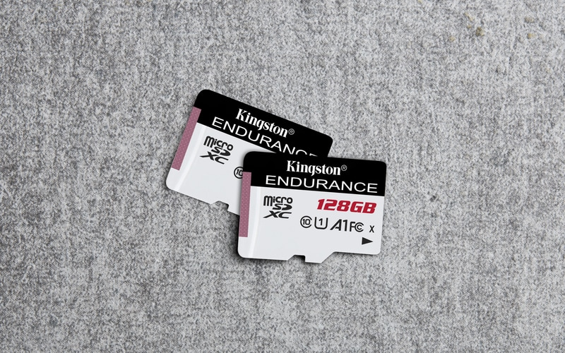 Nuova Kingston microSD High Endurance: la schedina perfetta per le cam di sicurezza