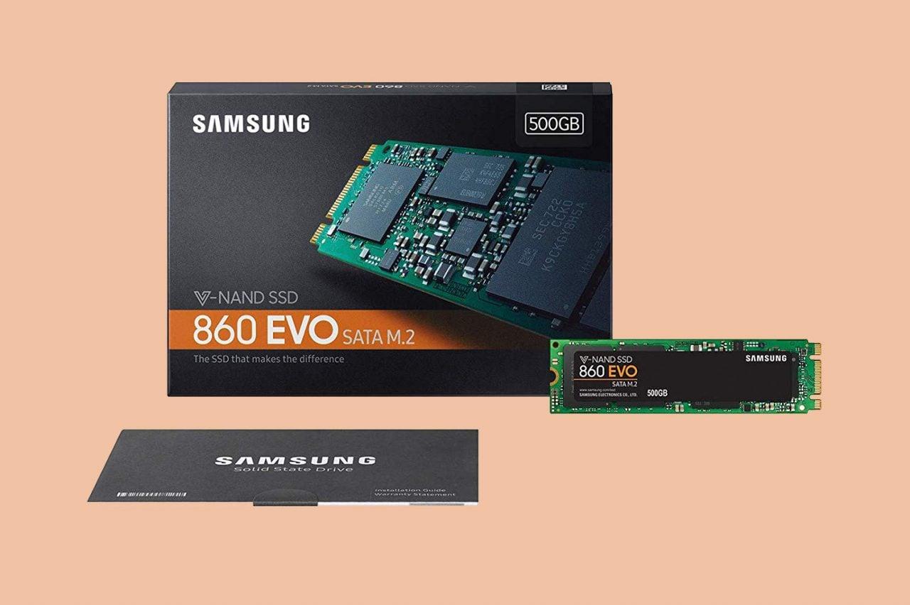 Doppio sconto per gli SSD Samsung 860 EVO M.2 da 250 GB e 500 GB