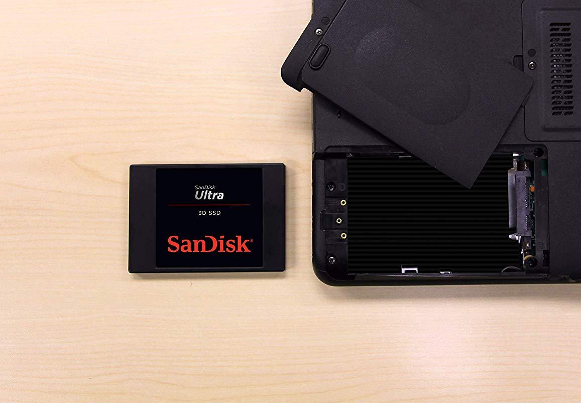 SanDisk SSD da 1 TB a soli 127,99€ su Amazon: date più spazio a PC e notebook