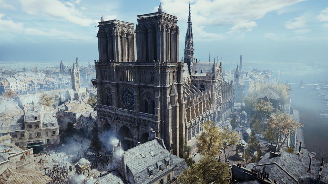 Ubisoft regala Assassin's Creed: Unity per farvi rivivere la bellezza di Notre-Dame