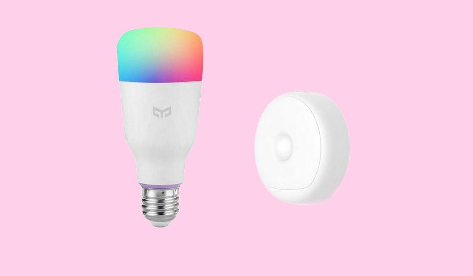 Offerte lampo GearBest per la domotica Yeelight: lampadine smart e strisce LED da non perdere