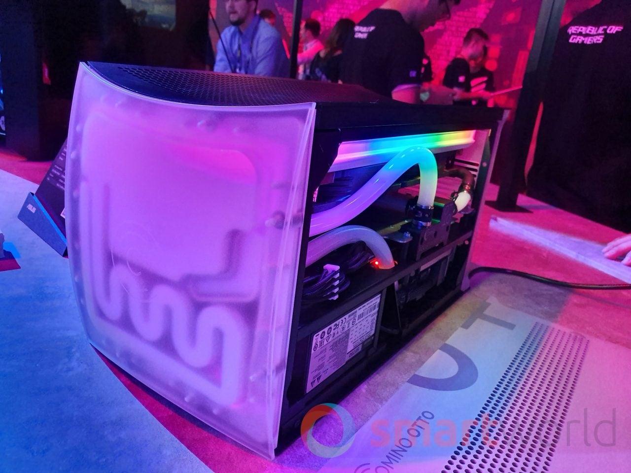 """Comino non è una spezia, ma l'autore di uno dei PC più """"cool"""" del Computex 2019 (foto e video)"""