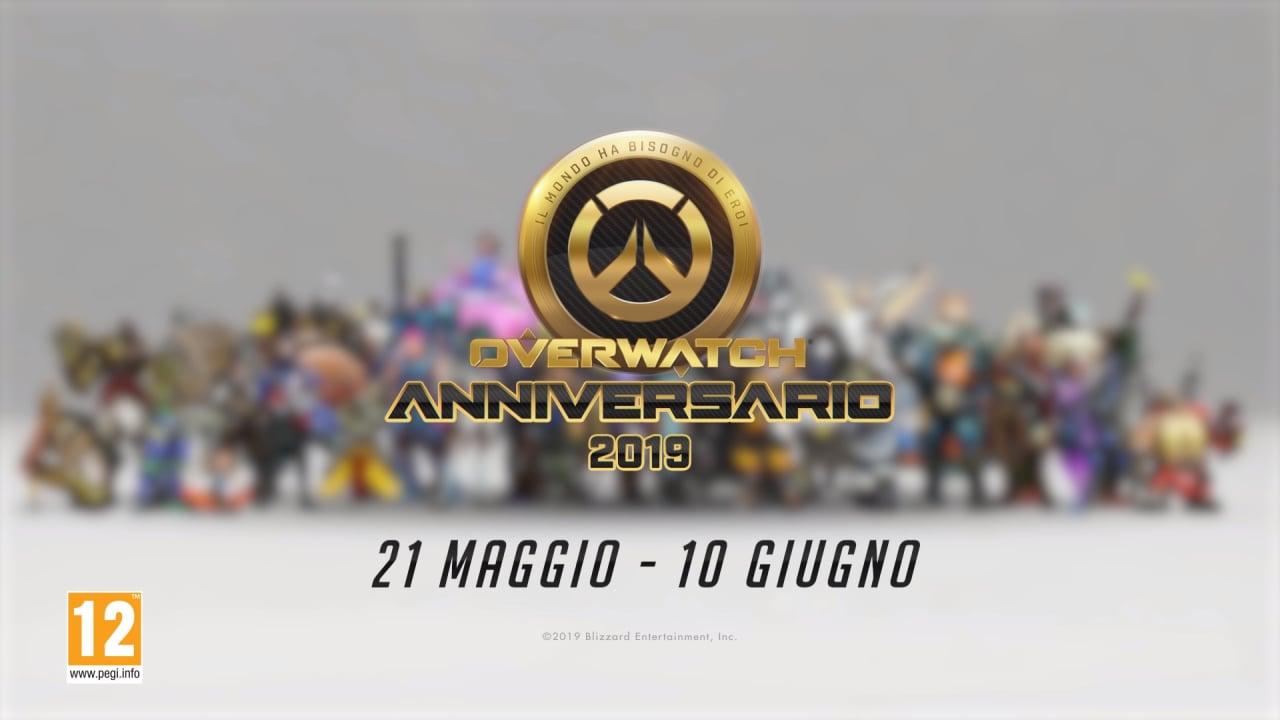 Blizzard festeggia il 3° anniversario di Overwatch riesumando risse, oggetti cosmetici ed emote passate