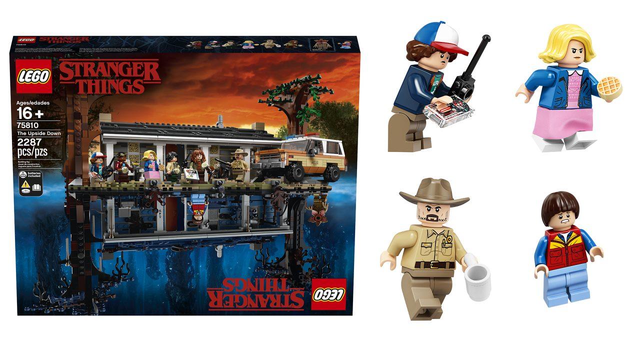 Il set LEGO ufficiale di Stranger Things è a dir poco bellissimo (aggiornato: nuove foto)