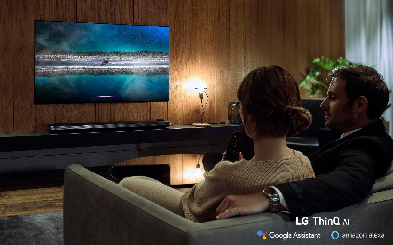 La serie 2019 di smart TV LG è pronta a supportare Amazon Alexa