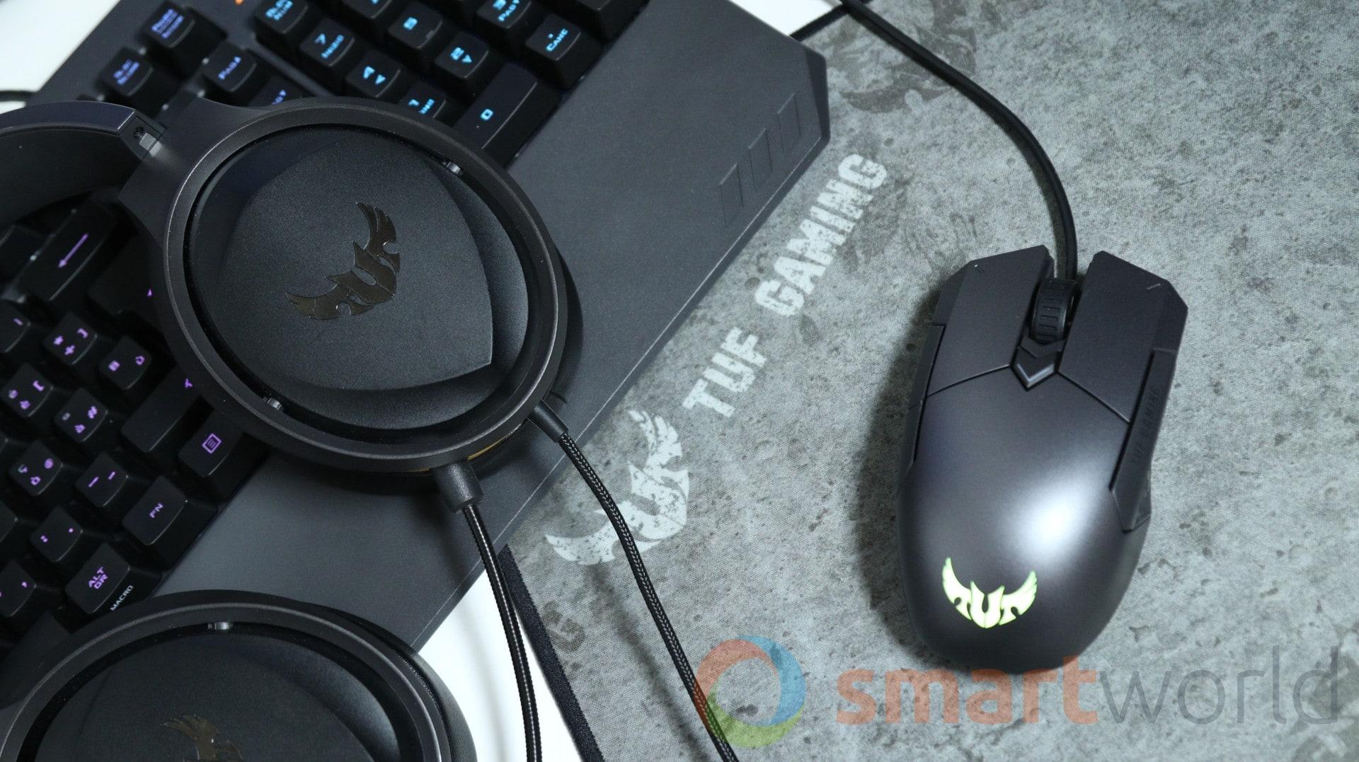 Recensione ASUS TUF Gaming M5 K5 H5 P3 1