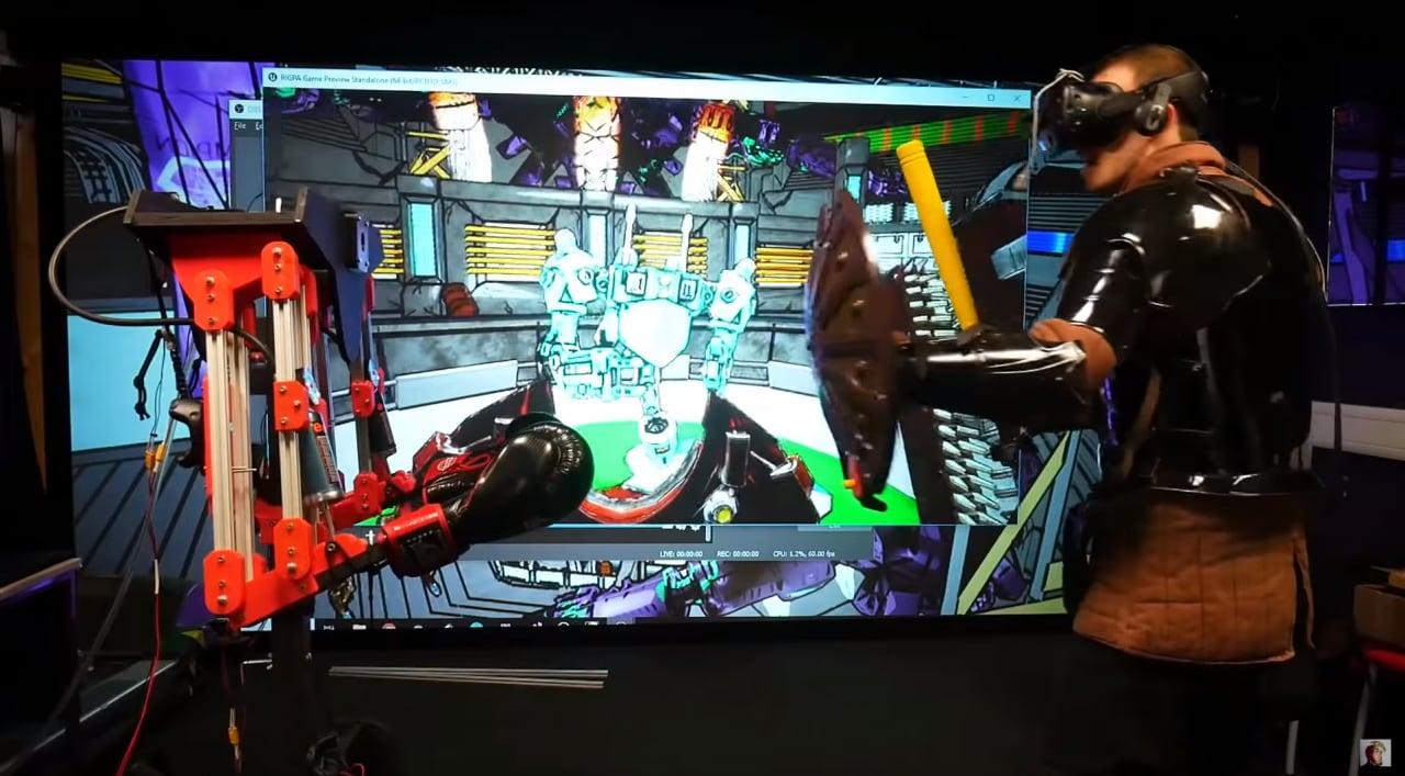 E se i boss dei videogiochi potessero colpirvi davvero? La nuova frontiera del VR arriva dall'Inghilterra (video)