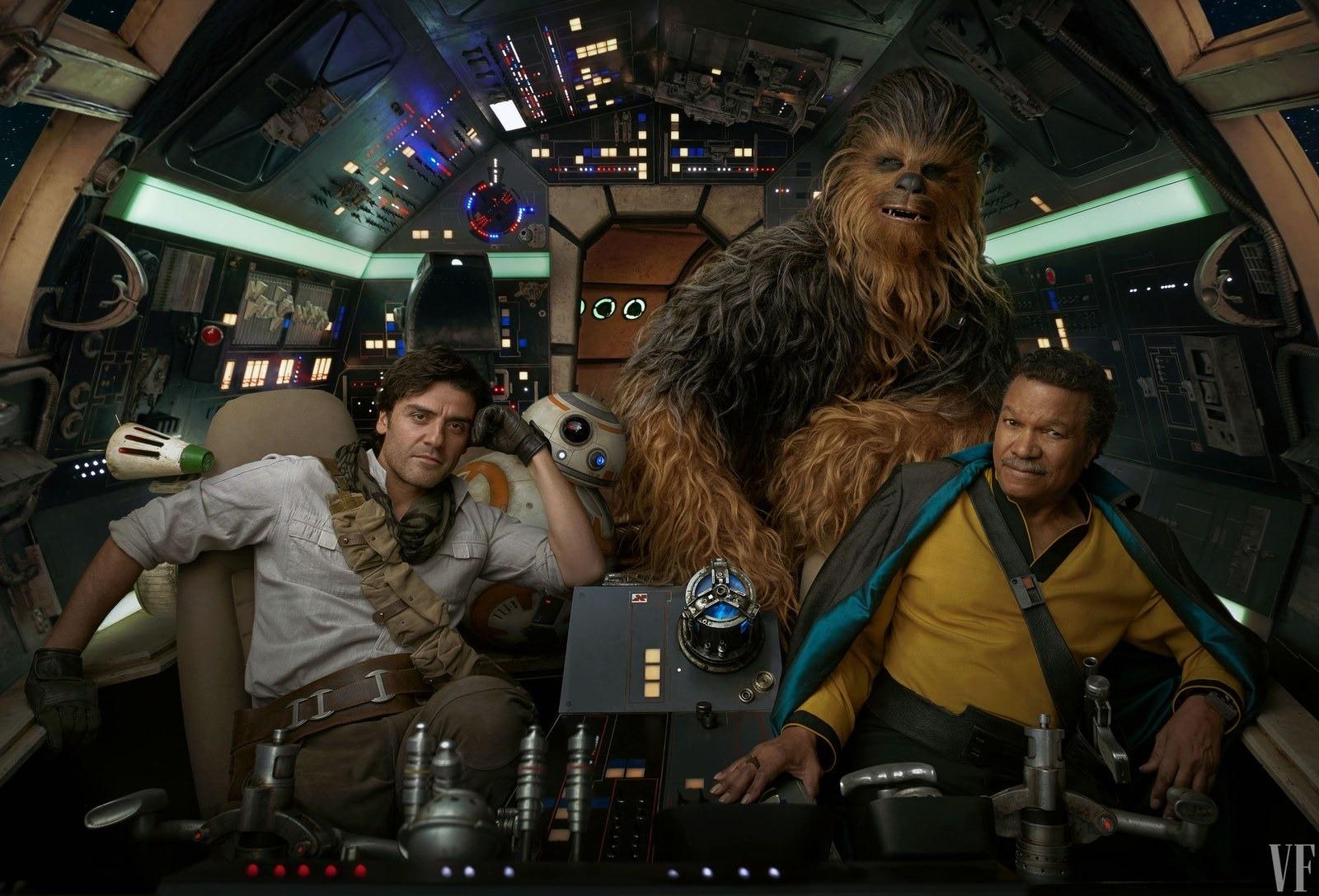 Star Wars Episodio IX Prime Foto Vanity Fair (10)