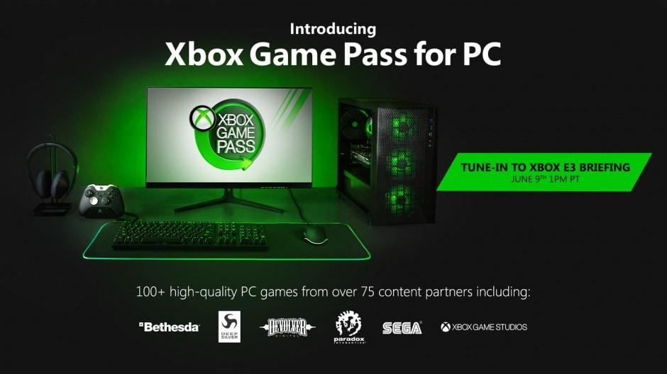 Microsoft e il futuro del gaming su PC: Game Pass anche su PC, 20 giochi Xbox Game Studios sbarcano su Steam e molto altro