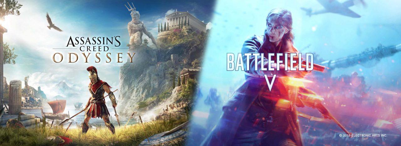 Assassin's Creed Odyssey e Battlefield V ai migliori prezzi mai visti su Amazon