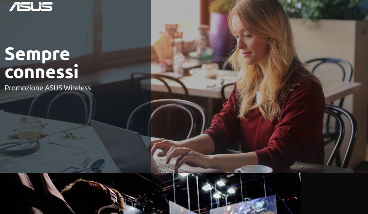 La nuova promozione ASUS vi vuole «Sempre Connessi»: Wi-Fi 6 e sistemi mesh in offerta per tutti! (foto)