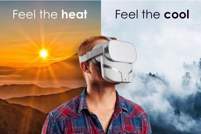 L'esperienza VR sarà completa con questo accessorio su Kickstarter (video)