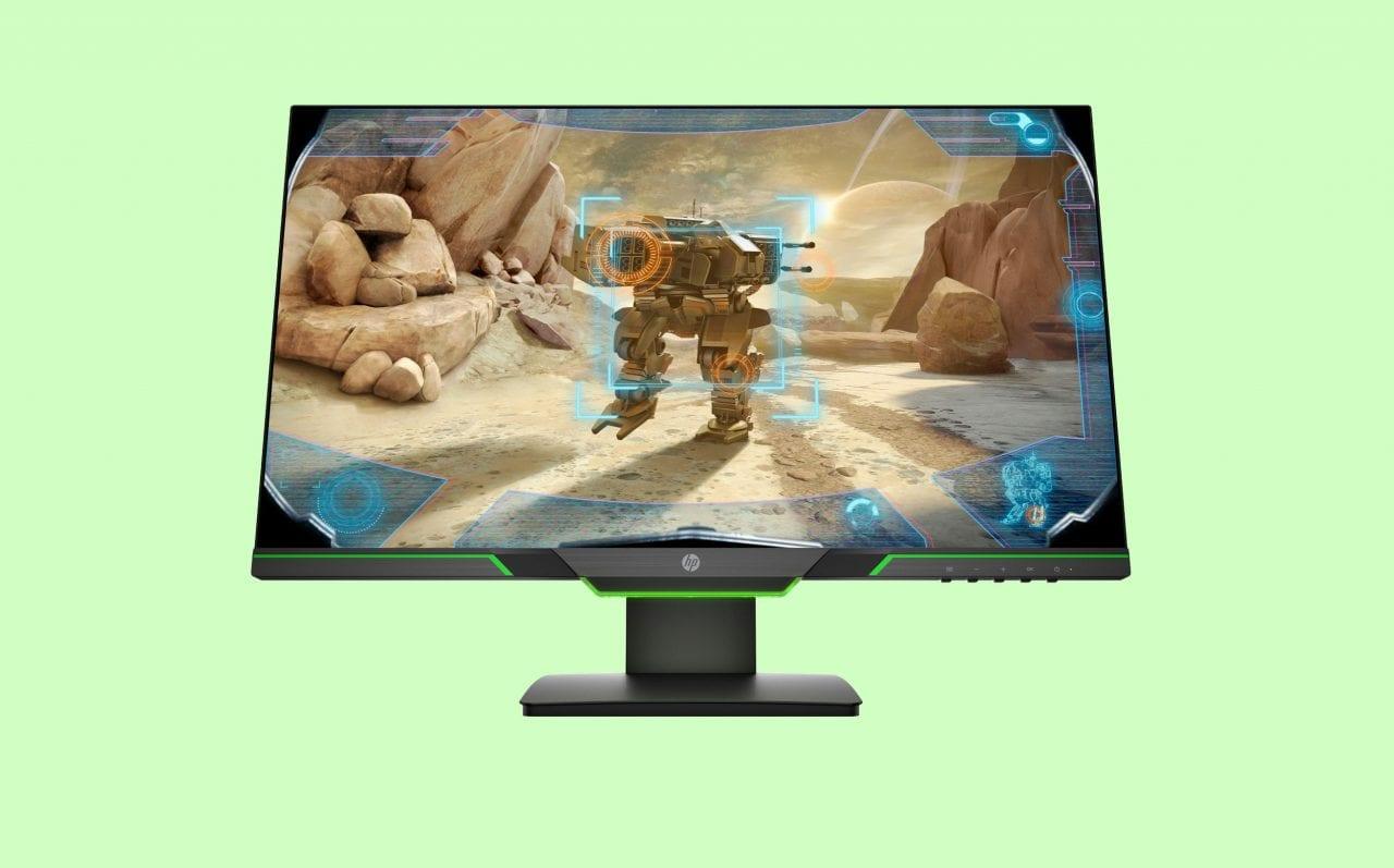 Che prezzo per questo monitor gaming HP! Su Amazon a 159€ con i suoi LED verdi