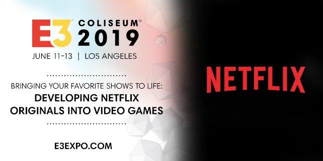 Netflix sempre più interessata all'universo videoludico: sarà presente all'E3 2019