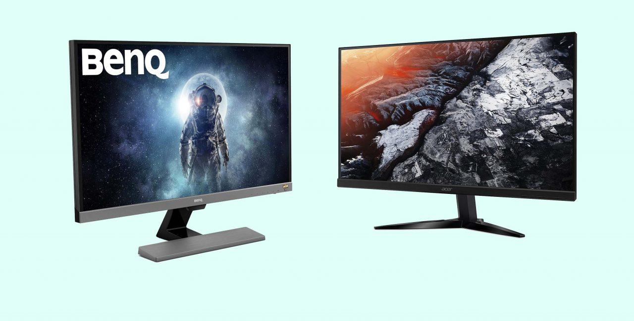 Amazon vi fa risparmiare sui monitor gaming con due offerte a marchio Acer e BenQ