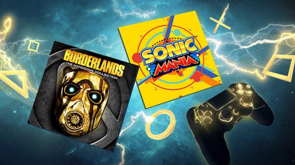 Borderlands e Sonic sono al centro dei giochi PlayStation Plus di giugno (video)