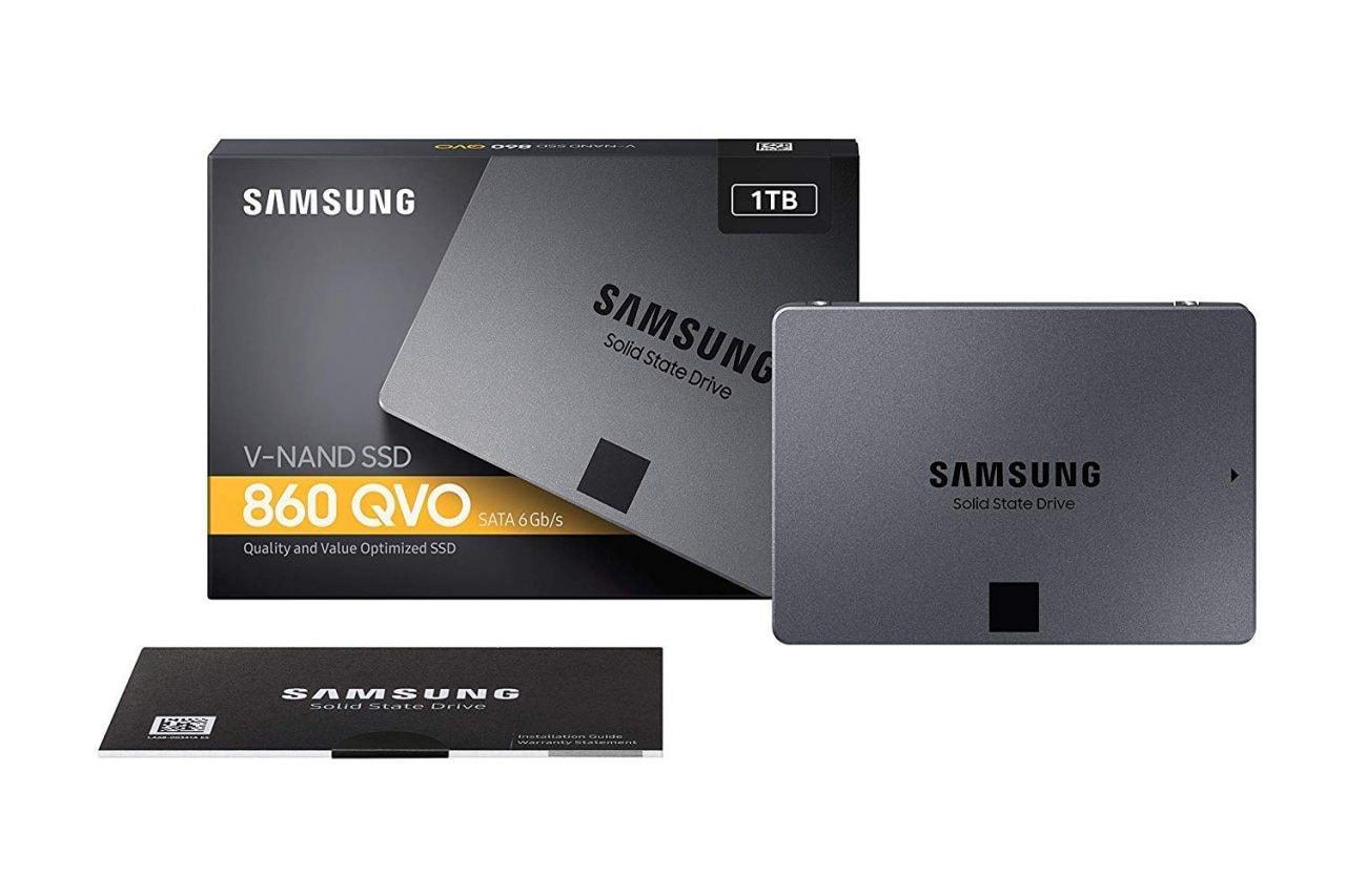 SSD Samsung 860 QVO da 1 TB imperdibile su Amazon Italia: oggi a 104,49€