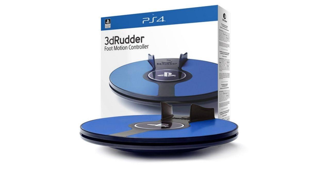 """3dRudder: disponibile il controller che vi fa """"camminare"""" su PSVR (video)"""