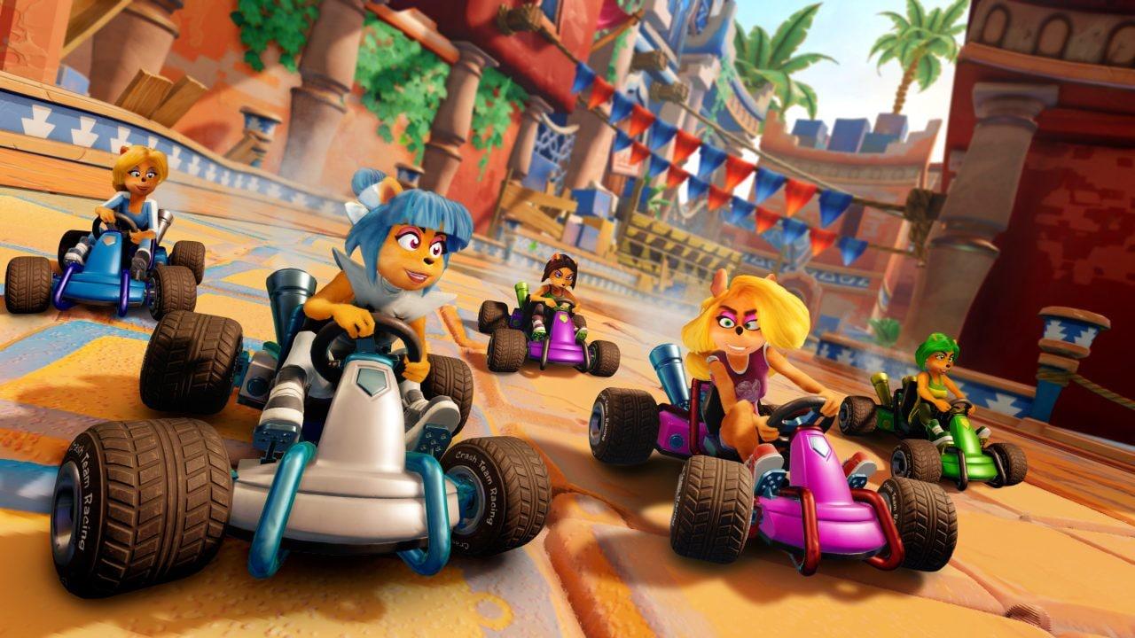 Crash Team Racing Nitro-Fueled si arricchirà continuamente di nuove piste e personaggi dopo il lancio