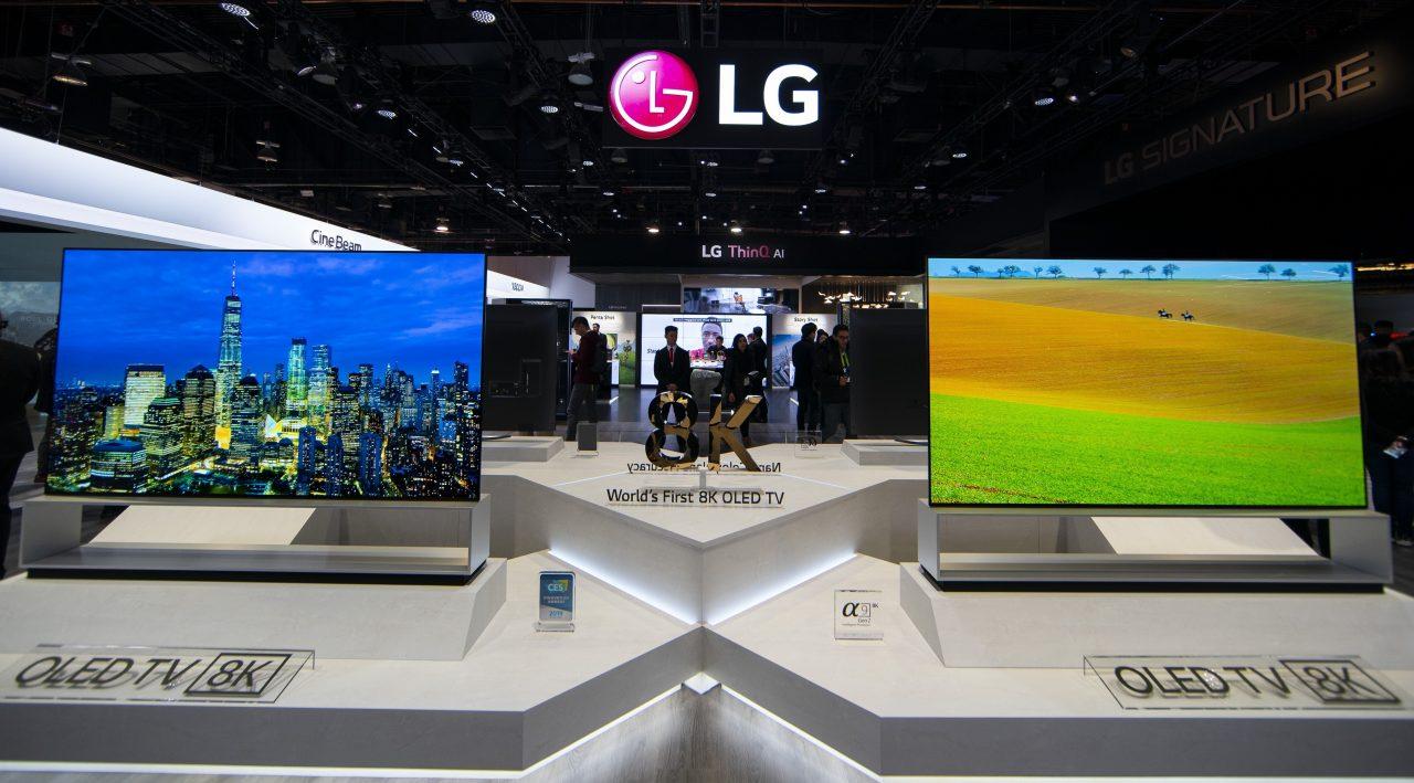 Il maestoso TV 8K da 88 pollici di LG presto in pre-ordine (foto)