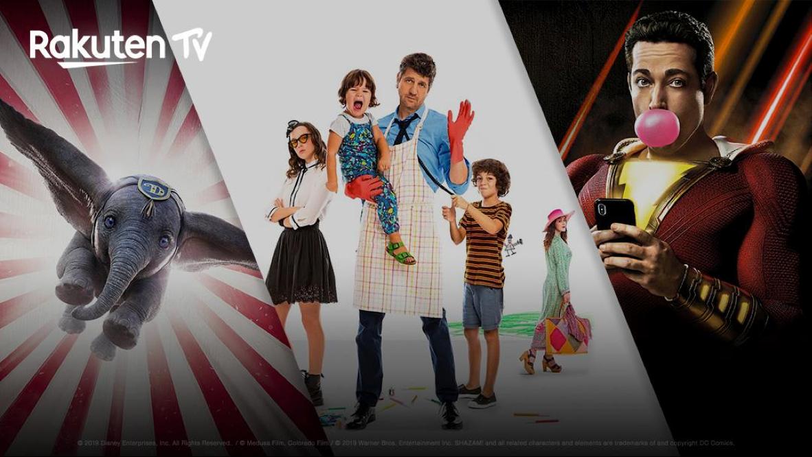 Le migliori novità di Rakuten TV di luglio: Dumbo, Shazam!, 10 giorni senza mamma