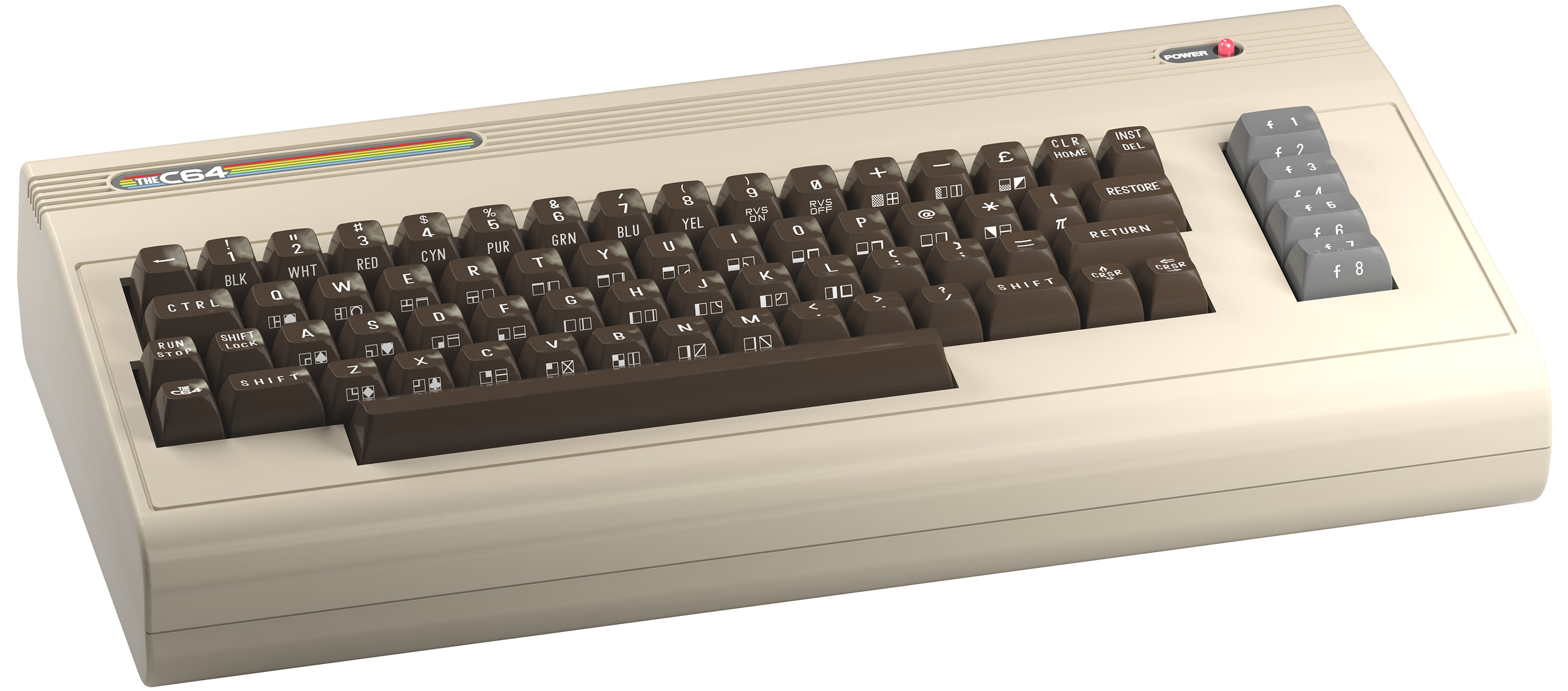 THEC64 Angled