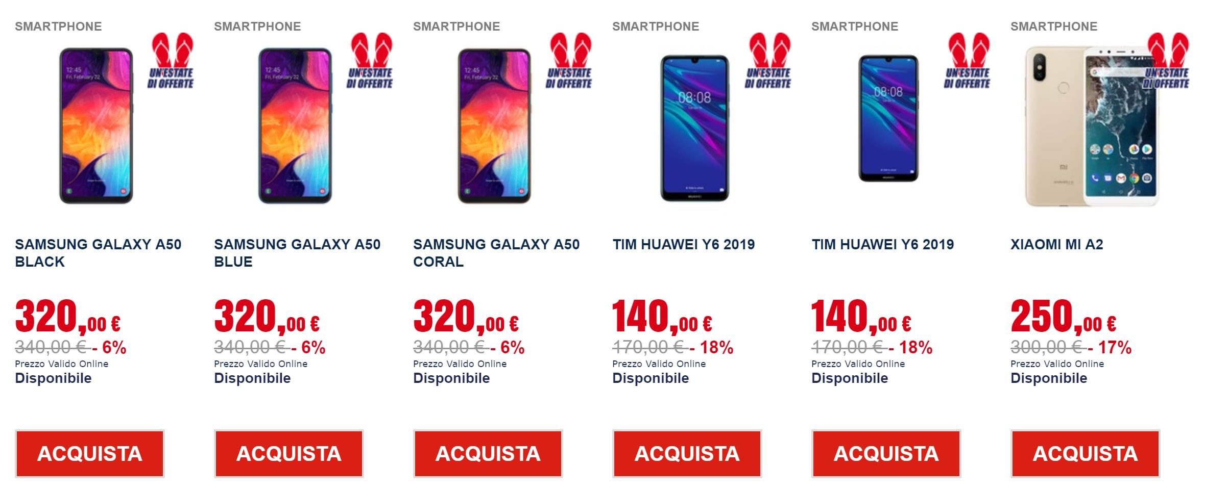 Trony un estate di offerte 21 giugno 2019 smartphone (2)