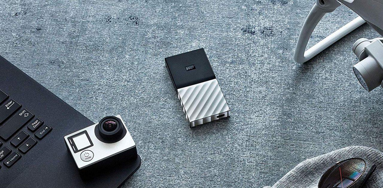 Un SSD portatile al 55% di sconto? Ecco l'offerta per Western Digital My Passport SSD