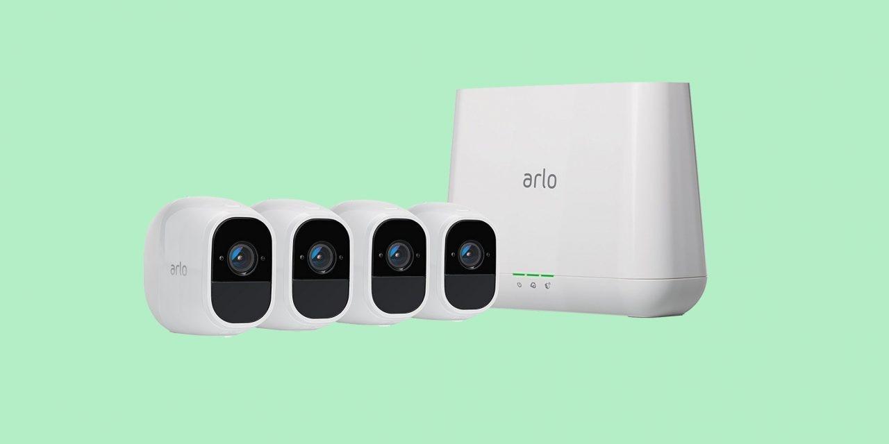 Kit Arlo con 4 cam di sorveglianza in offerta lampo su Amazon: super sconto del 30%
