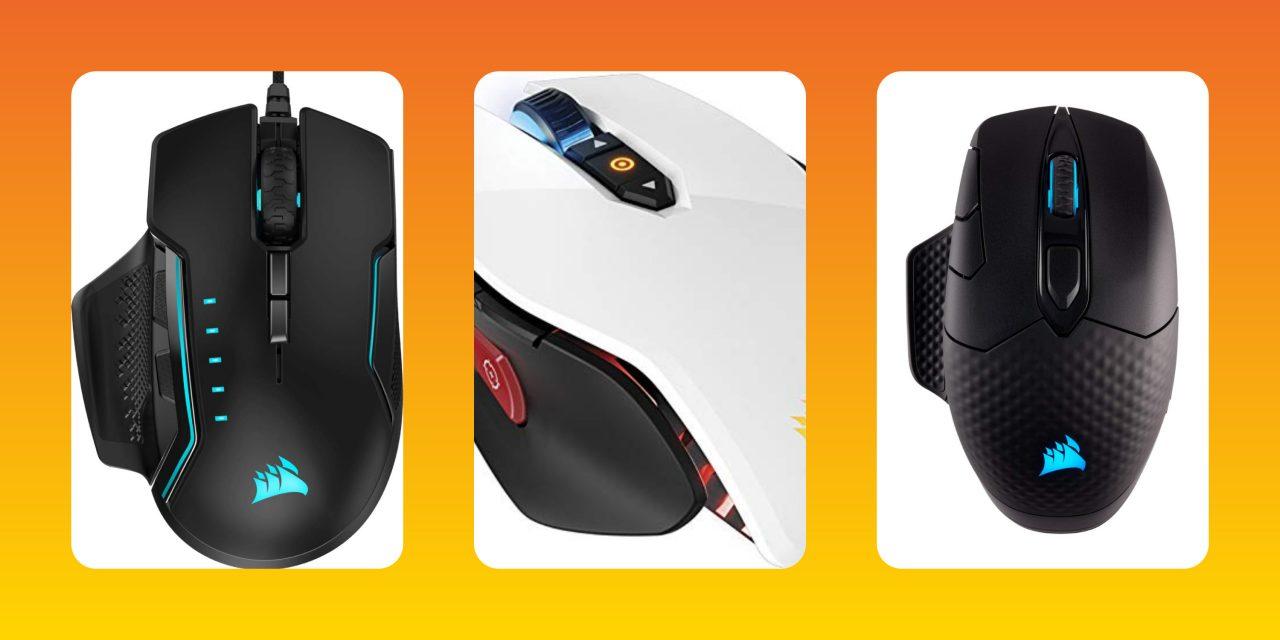 Mouse gaming Corsair per FPS e MOBA al miglior prezzo su Amazon: si parte da 49€