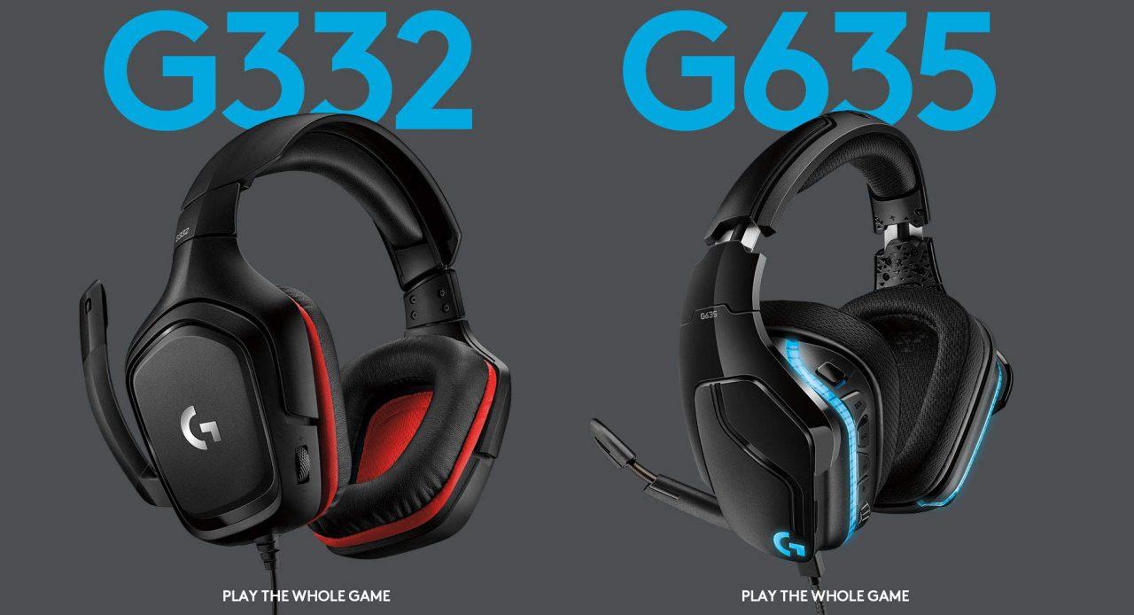 Cuffie gaming Logitech G332 e G635 al miglior prezzo su Amazon