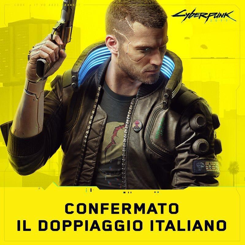 Fermi tutti: Cyberpunk 2077 sarà doppiato anche in italiano! (foto)