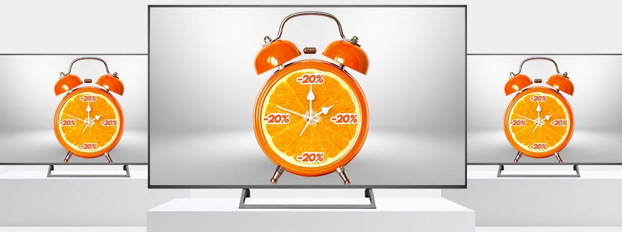 """Offerte Expert """"Orange Days"""" 5-9 giugno: sconto del 20% su tantissimi TV 4K"""