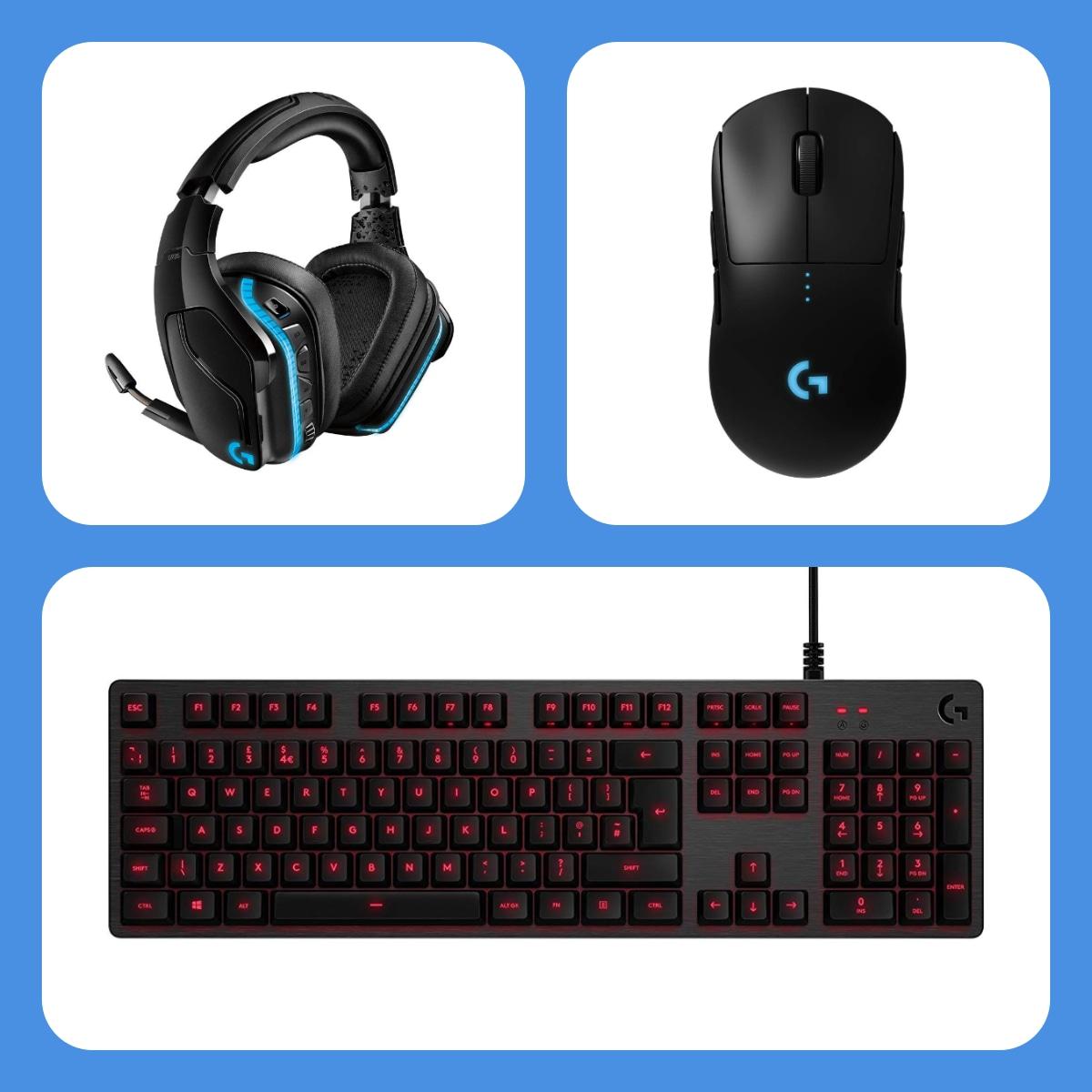 Cuffie Logitech G935 e mouse Logitech G PRO al miglior prezzo su Amazon e c'è anche una tastiera meccanica