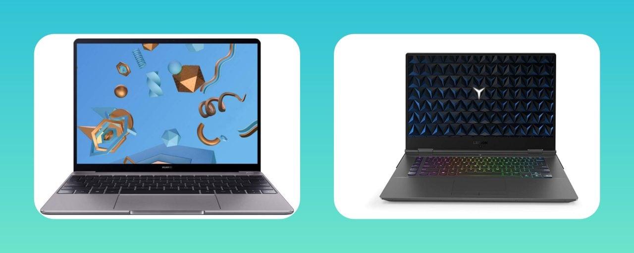 Huawei MateBook 13 appena sotto ai 1.000€, ma c'è anche Legion Y530 a 938€