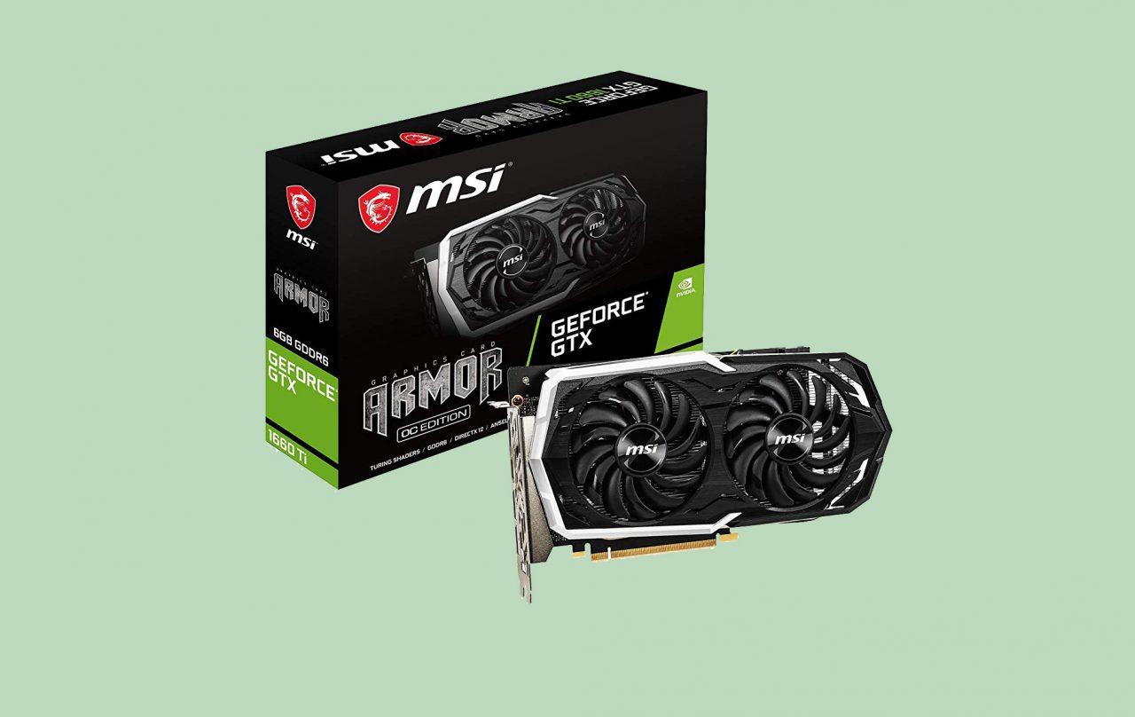 MSI NVIDIA GTX 1660 Ti al miglior prezzo su Amazon: oggi in sconto a 304€