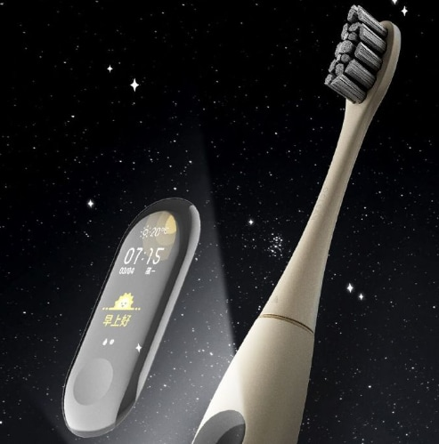 Uno schermo touch sullo spazzolino? Arriverà anche quello (foto)